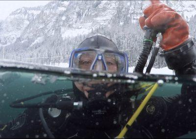 Aquaventure - plongée-sous-glace à Montriond