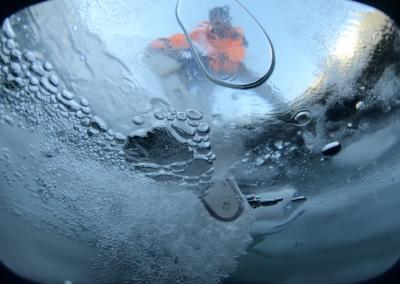 plongée sous glace montriond