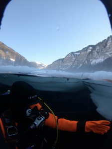 ice diving montriond