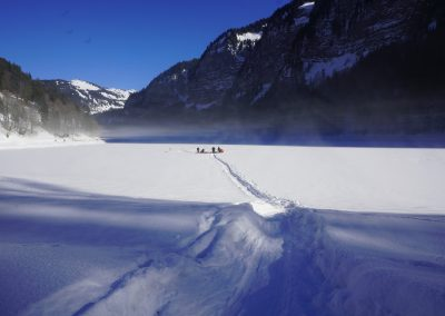 ice diving avoriaz