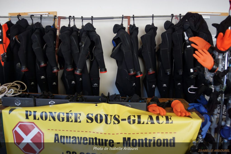 ice diving France