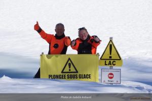 plongée-sous-glace - Montriond