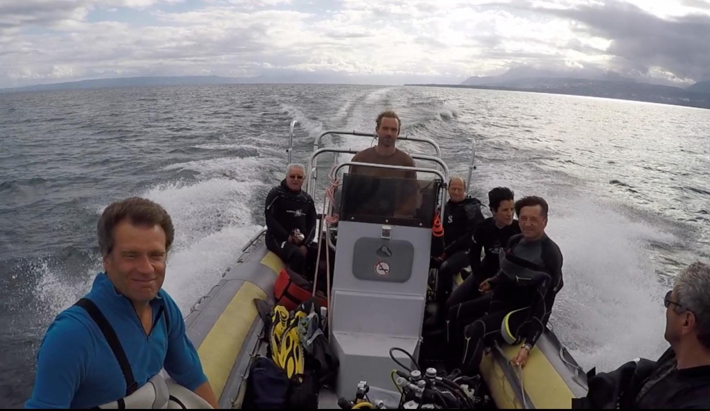 Aquaventure, sorties bateau sur le Lac Léman